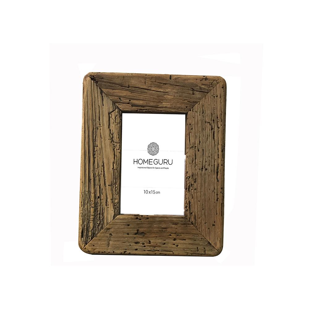 Φωτ/θήκη από μασίφ ξύλο 18,5x23,5cm(10x15cm)